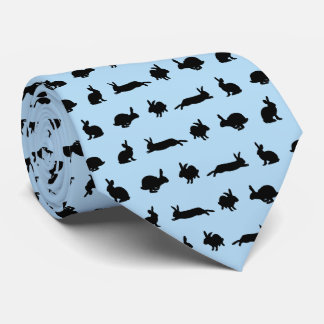 Bunny Hugger Tie (Light Blue)