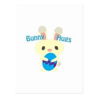 Bunny Hugs Postcard