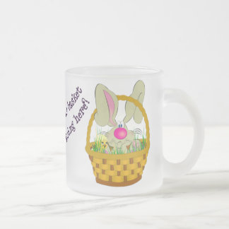 Bunny in a Basket Easter Mug