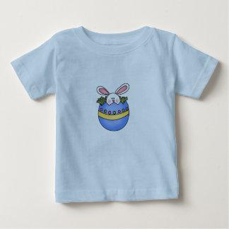 Bunny in Blue Egg Easter Tshirt
