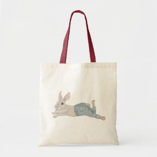 Bunny in Jeans Tote Bag