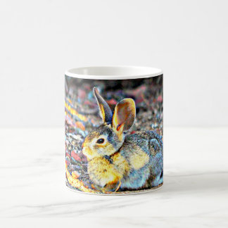 Bunny In Sunlight Coffee Cup