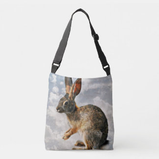 Bunny in the Heavens Cross Body Bag