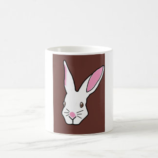 Bunny in your Face! Basic White Mug