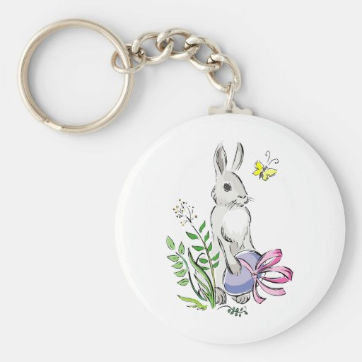 Bunny Keychain