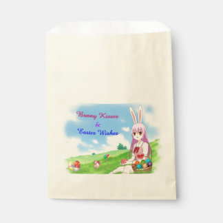 Bunny Kisses & Easter Wishes (Customizable) Favour Bag