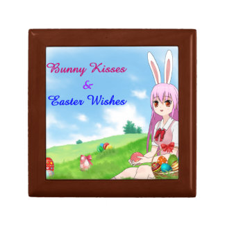 Bunny Kisses & Easter Wishes (Customizable) Gift Box