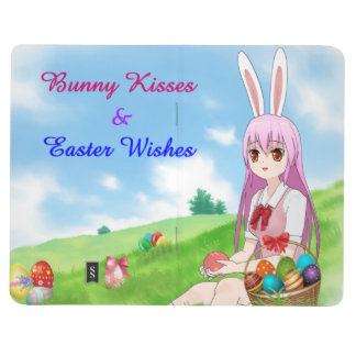 Bunny Kisses & Easter Wishes (Customizable) Journal
