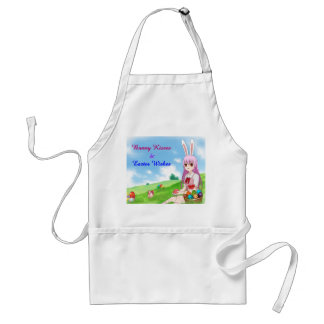 Bunny Kisses & Easter Wishes (Customizable) Standard Apron