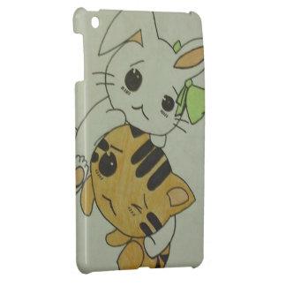 Bunny & Kitten Case For The iPad Mini