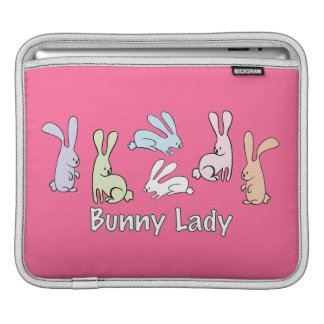 Bunny Lady Sleeves For iPads