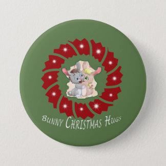 Bunny Love 7.5 Cm Round Badge