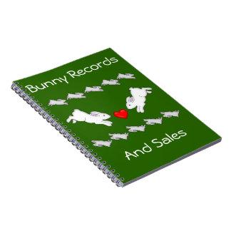Bunny Love Notebook