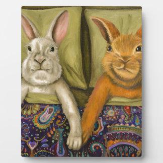Bunny Love Plaque