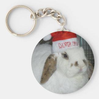 bunny lovers keychain