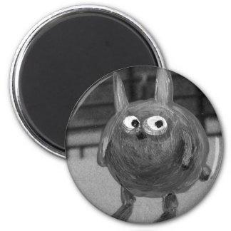 Bunny Noir 6 Cm Round Magnet