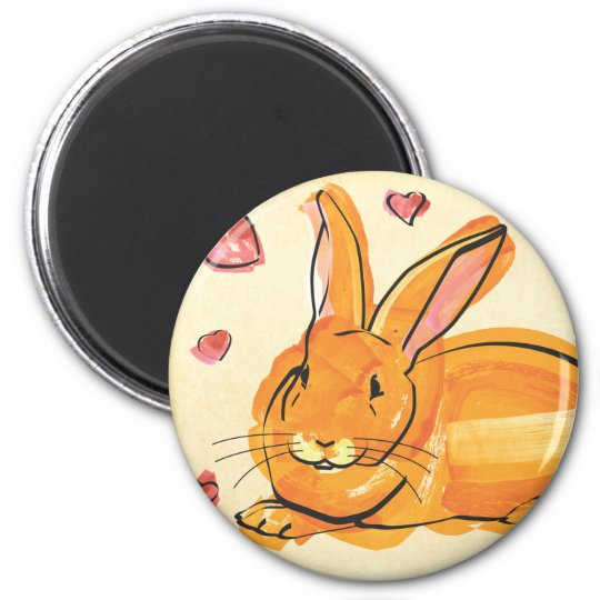 BUNNY OF LOVE MAGNET