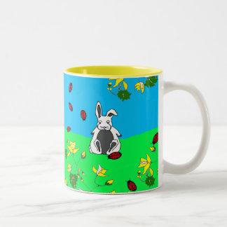 Bunny On The Hill Mug