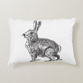 Bunny or Wasp Throw Pillow