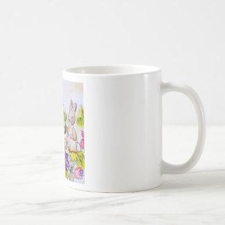 bunny patch coffee mug