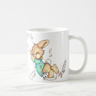 Bunny Pillow Fight Mug