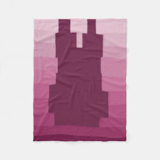 Bunny Pink Fleece Blanket