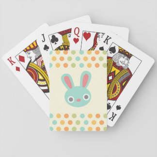 Bunny playing cards