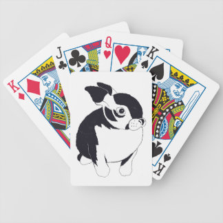 Bunny Rabbit Bicycle Playing Cards