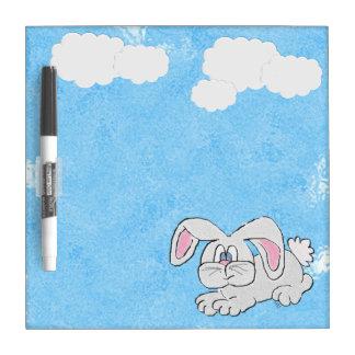 Bunny Rabbit (blue) Dry-Erase Whiteboard