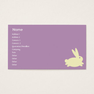 Bunny Rabbit - Business Business Card