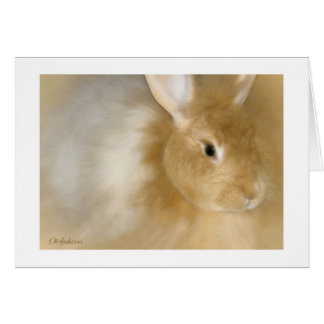 Bunny Rabbit (Caramel) Card