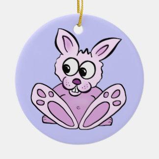 Bunny Rabbit Christmas Ornament