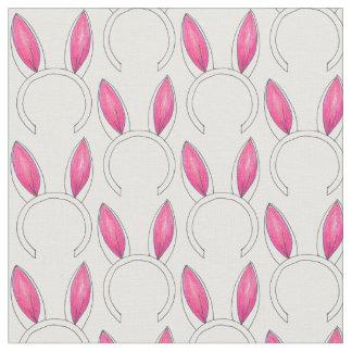 Bunny Rabbit Ears Springtime Easter Fabric