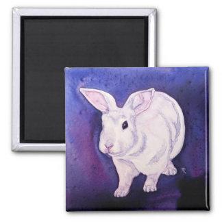 "Bunny Rabbit Magnet - ""Somebunny's Here"""