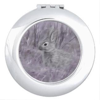 Bunny Rabbit photography art Makeup Mirror