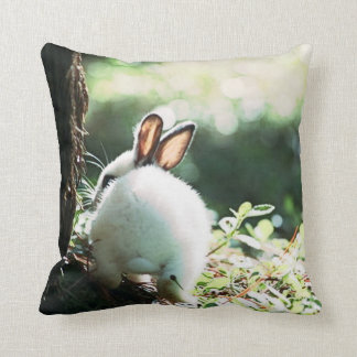 bunny rabbit pillow