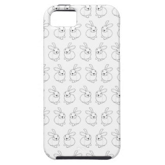 Bunny rabbits cute tatty hopping mad iPhone 5 cases