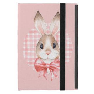 Bunny. Red bow iPad Mini Cover