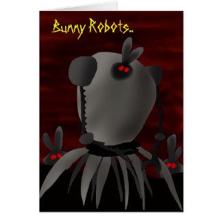 Bunny Robots.. Card