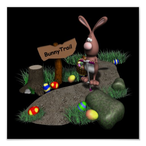 Bunny Trail Posters