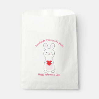 Bunny Valentine Favour Bags