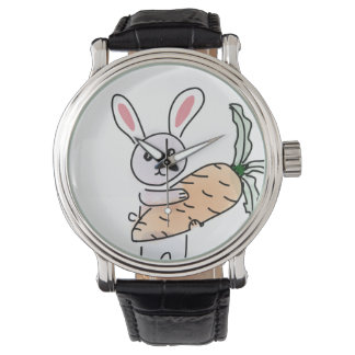 Bunny with a Carrot Watch