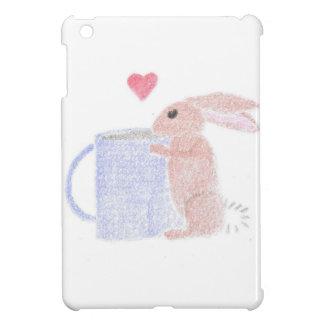 Bunny With Coffee iPad Mini Covers