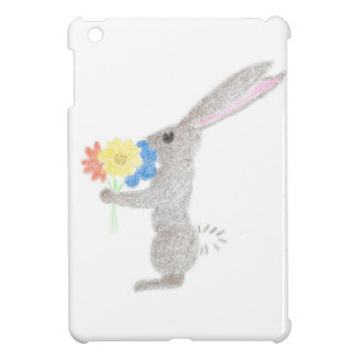 Bunny With Flowers Case For The iPad Mini