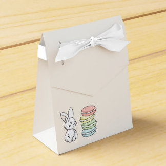 Bunny with Macaroons Favour Box