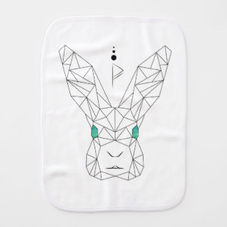 bunnylove burp cloth