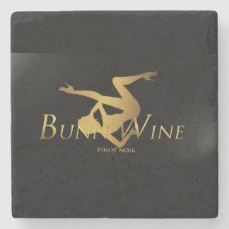BunnyWine Marble Stone Coaster