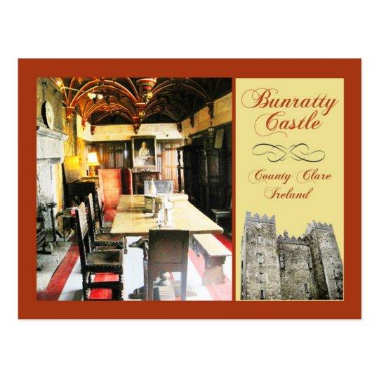 Bunratty Castle, County Clare, Ireland Postcard