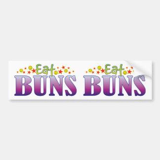 Buns Eat Bumper Sticker