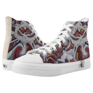 #Bunte graffiti of shoes for Skater